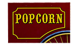 popcorn wagon sign